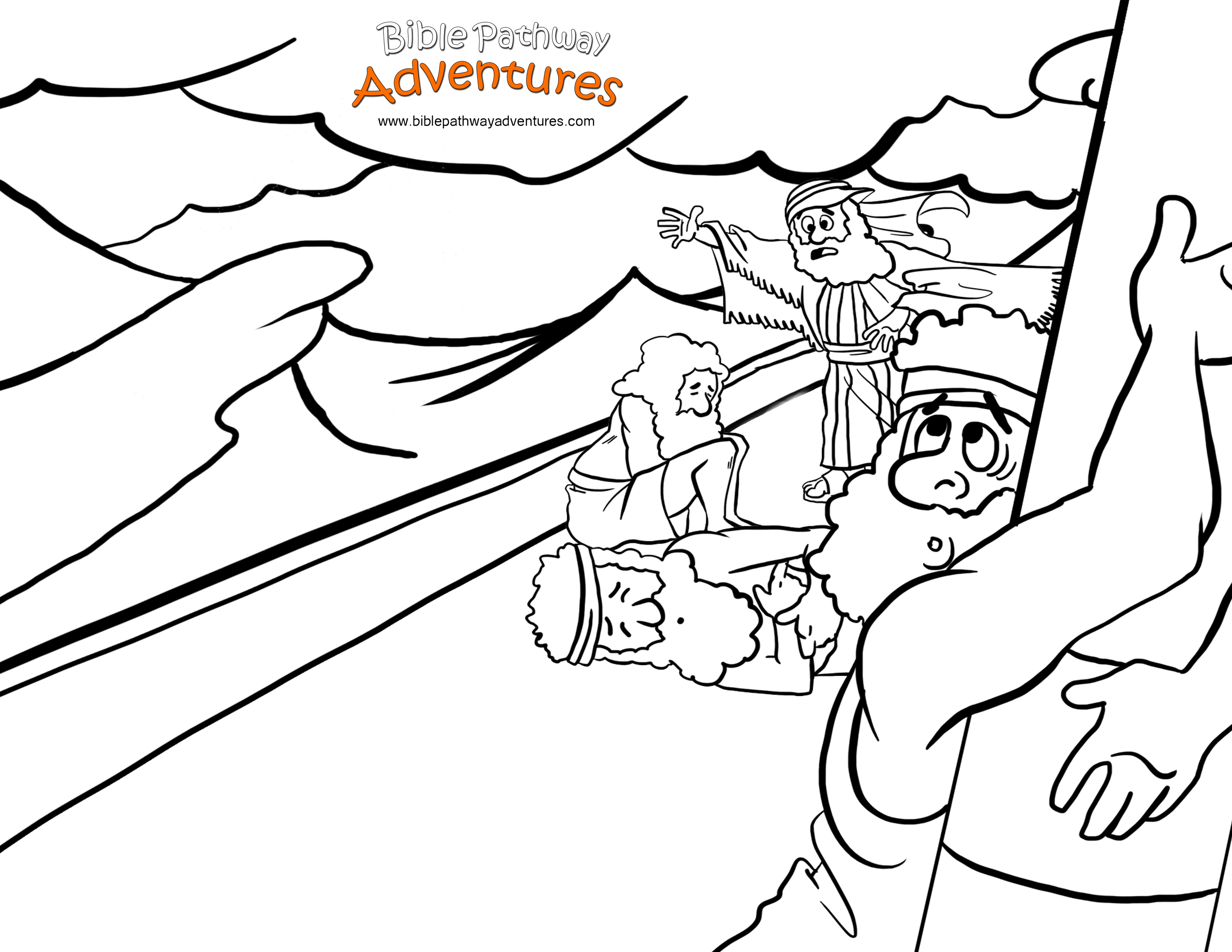 Apostle Paul Preaching Coloring Page Pages