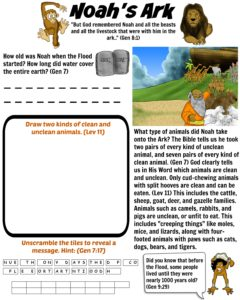 Noah S Ark Bible Story The Great Flood Bible Stories