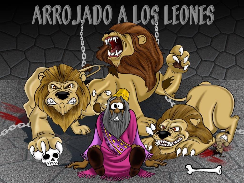 Excelente Daniel Y La Guarida De Los Leones Para Colorear Lds Adorno ...