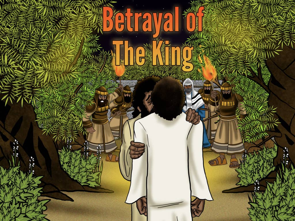 Bible story Betrayal of The King The Passover FREE