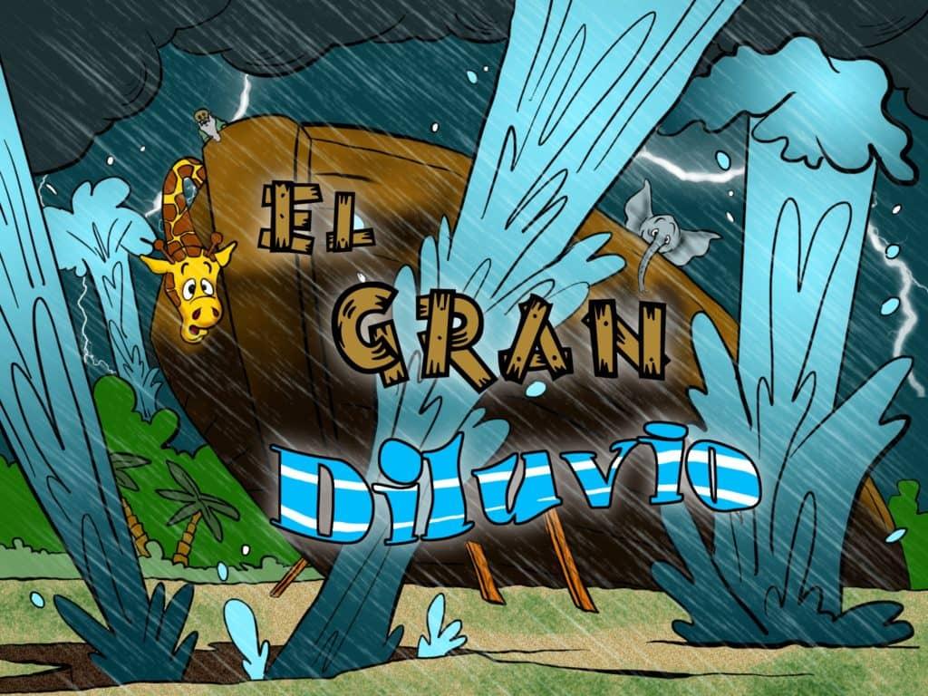 historias de biblia para ninos  el gran diluvio