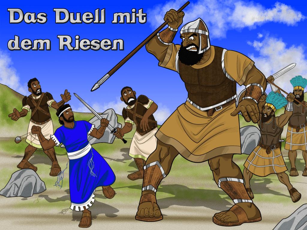 Bibelgeschichten für kinder - Das Duell mit dem Riesen - David und ...
