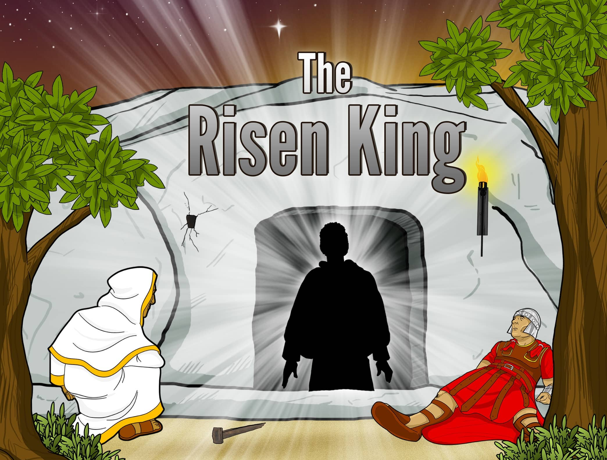 Bible Story Video The Risen King Resurrection Of The