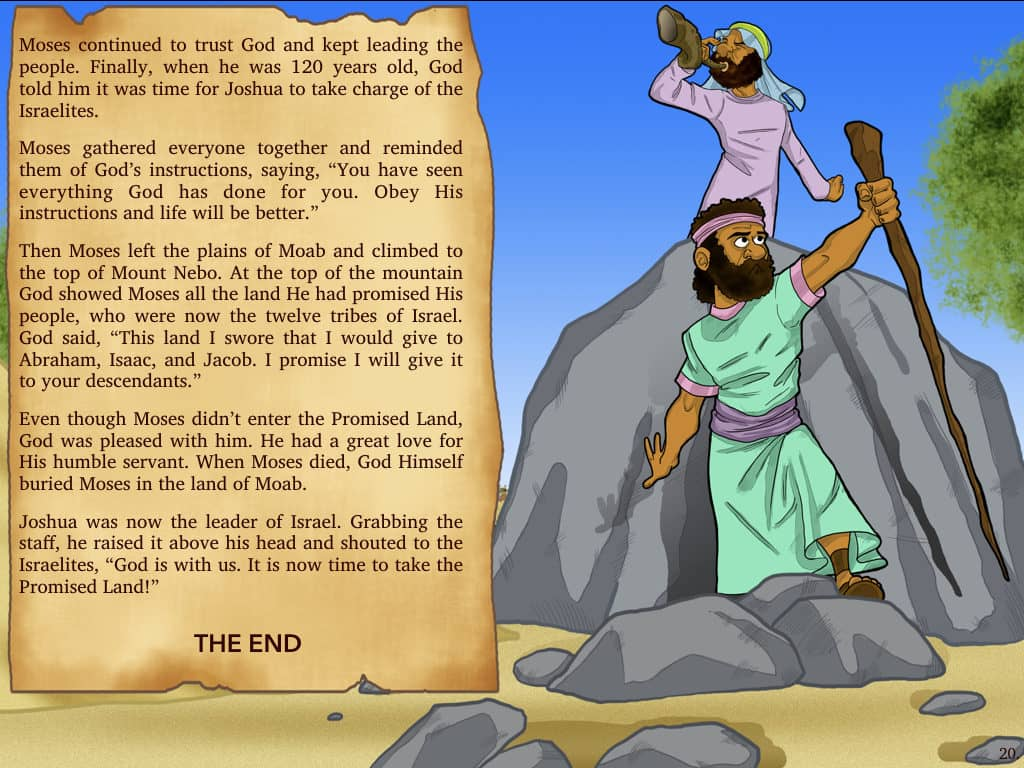 Bible Story The Exodus Moses Amp The Israelites Path To