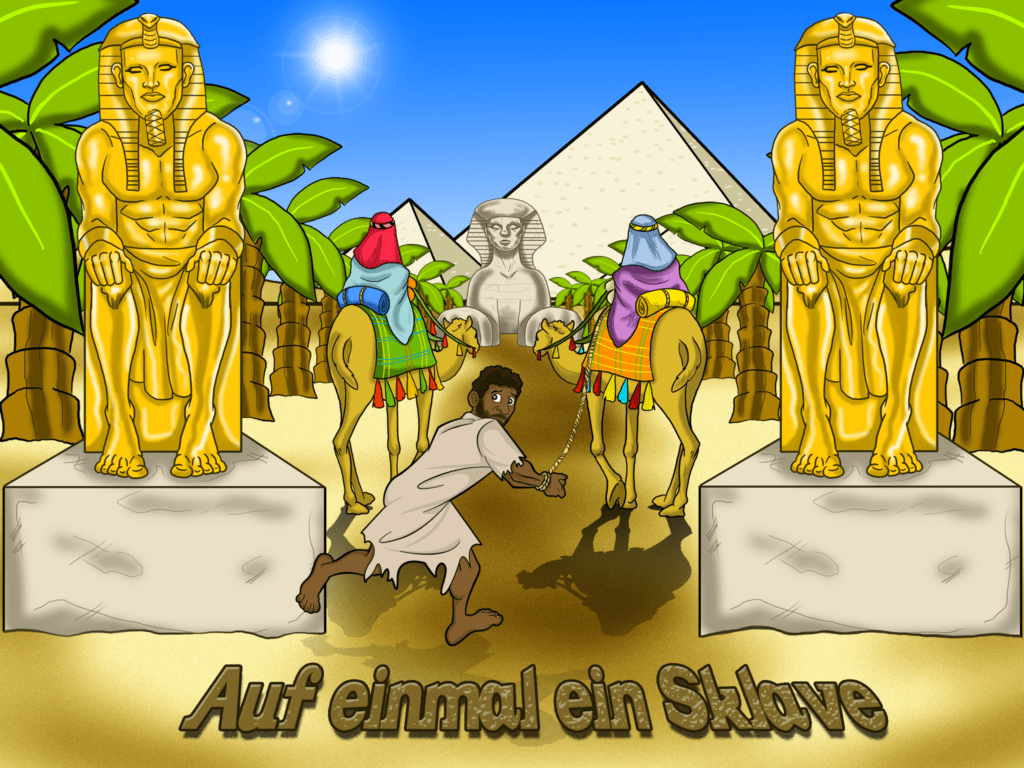 Bibelgeschichten für kinder - Auf einmal ein Sklave - Josef und ...