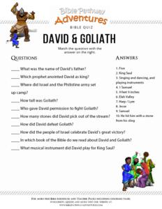 Free Bible Story for Kids David