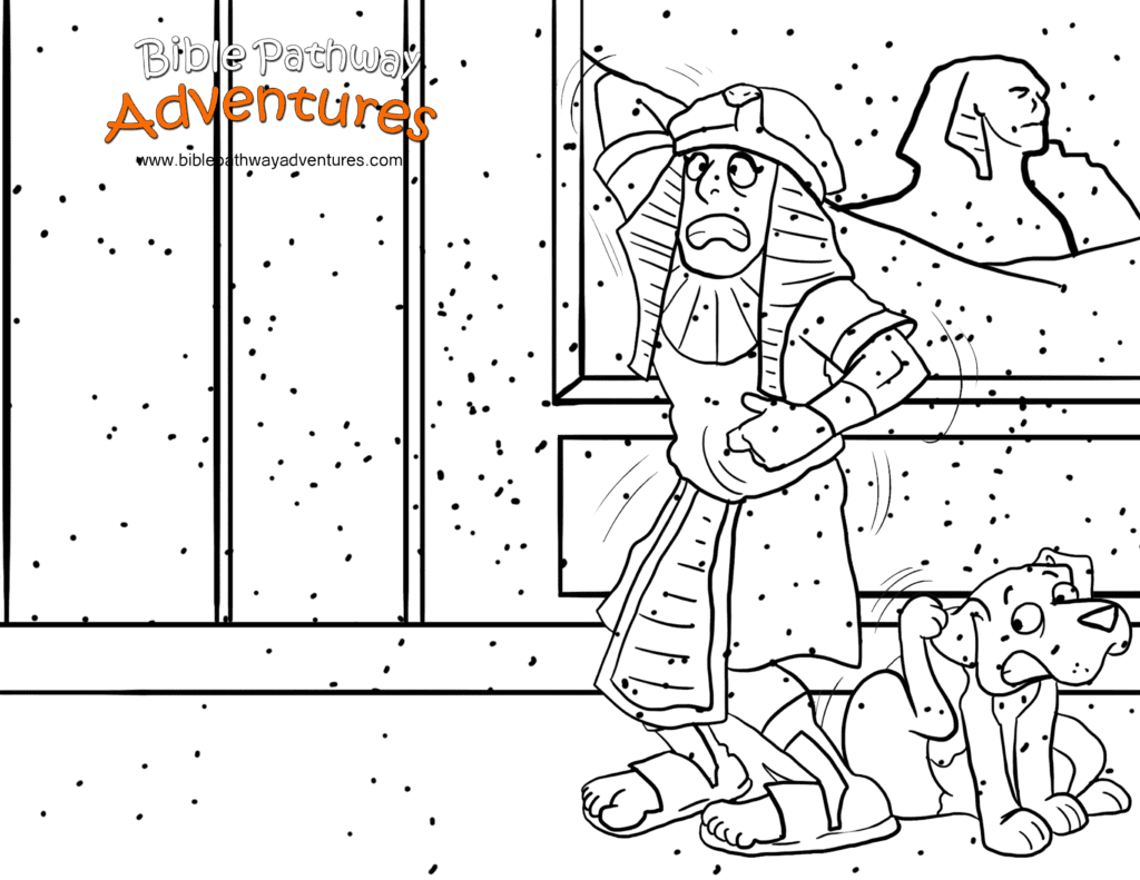 bible coloring pages ten - photo#17
