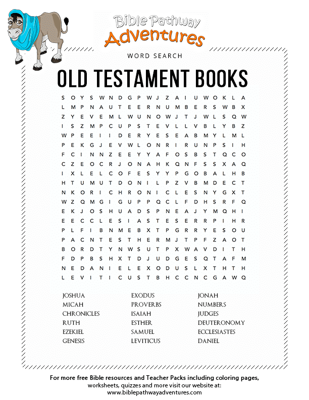 Old Testament Books Tanakh Bible Pathway Adventures