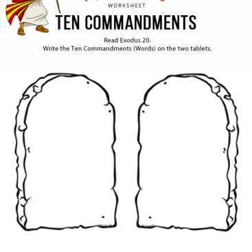 It is a picture of Nerdy Printable Ten Commandments Tablets