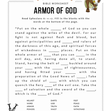 graphic relating to Armor of God Printable Activities identify Appear Achievement for \u201cArmor of god\u201d Bible Pathway Adventures