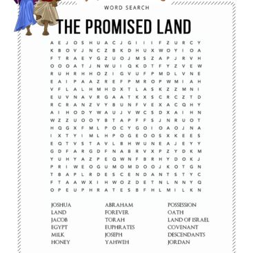 picture about Free Printable Bible Word Search Puzzles identified as Term Glance Bible Pathway Adventures