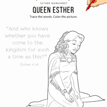 14 Esther – Bible Pathway Adventures