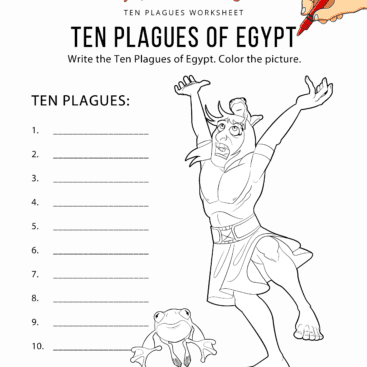 Bible Worksheets for Kids Free
