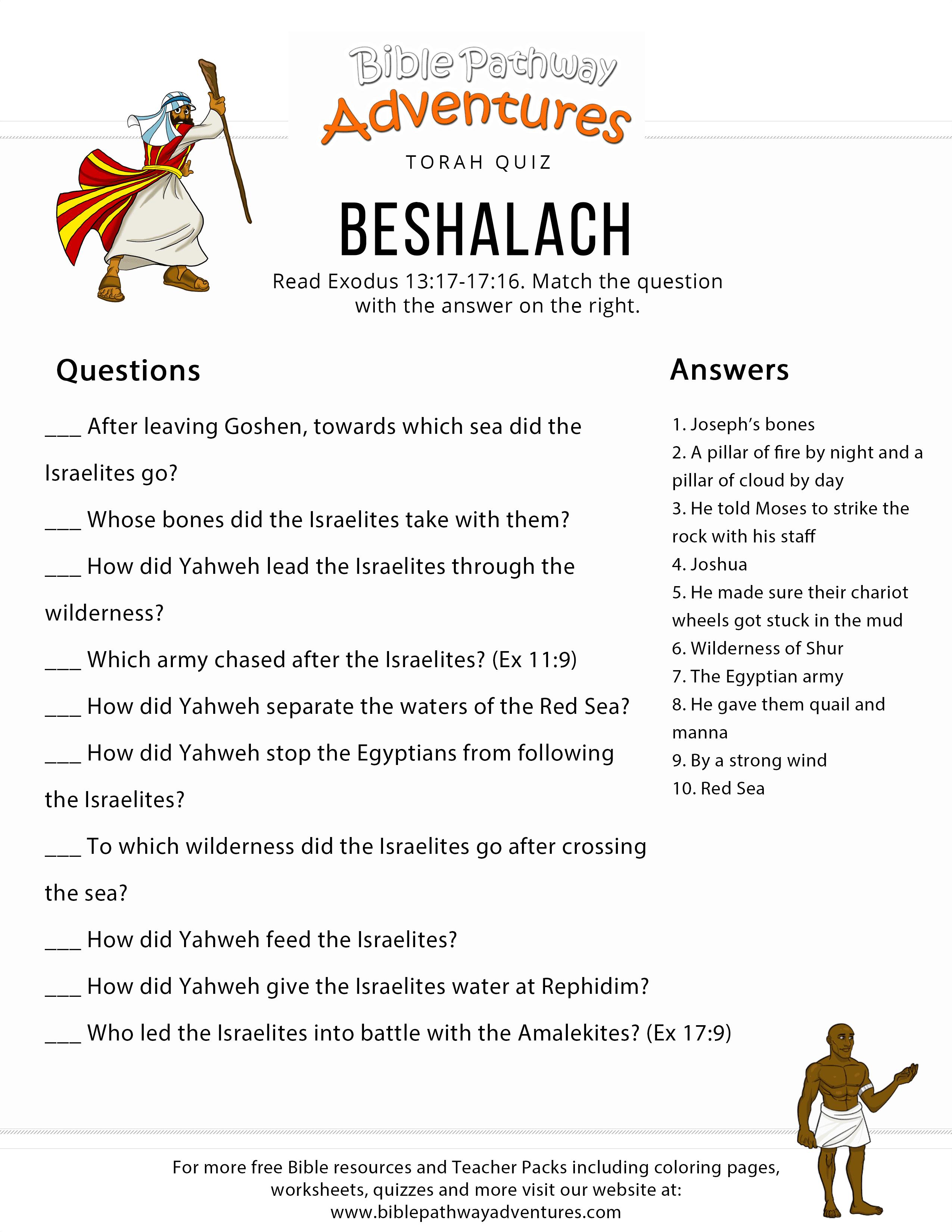 torah portion beshalach