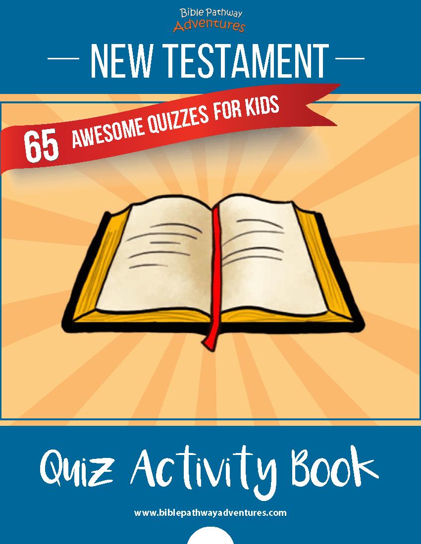 New Testament Quiz Activity Book