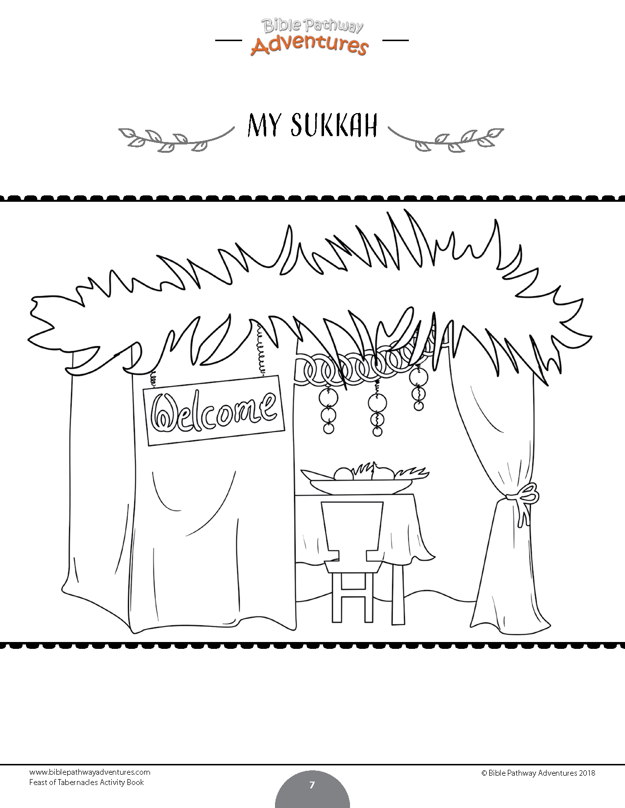 photo relating to Printable Diagram of the Tabernacle known as Feast of Tabernacles (Sukkot) Sport Ebook Bible Pathway