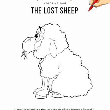 Printable Bible coloring pages for Kids | Free Download