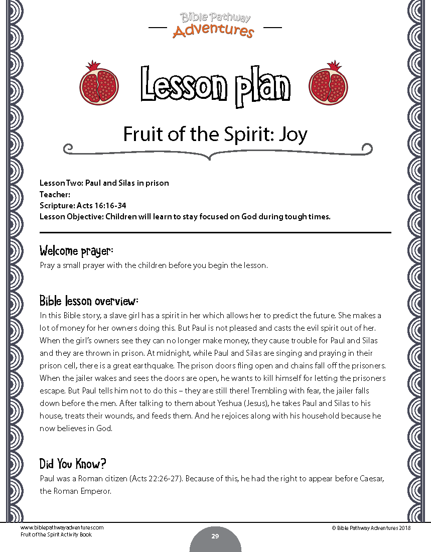Worksheets Fruit Of The Spirit Worksheets fruit of the spirit coloring activity book instant download project description
