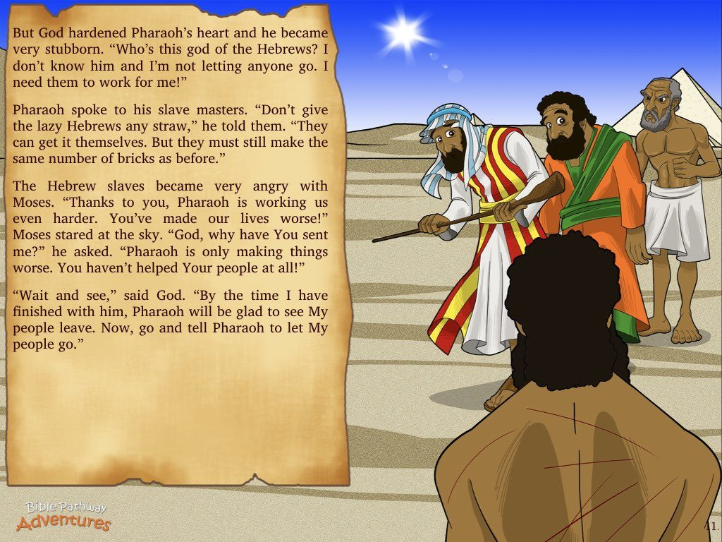 Escape From Egypt Bible Pathway