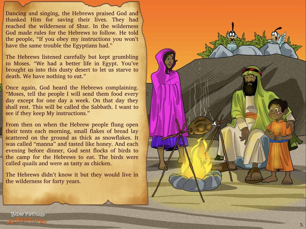 Path To Freedom Bible Pathway Adventures