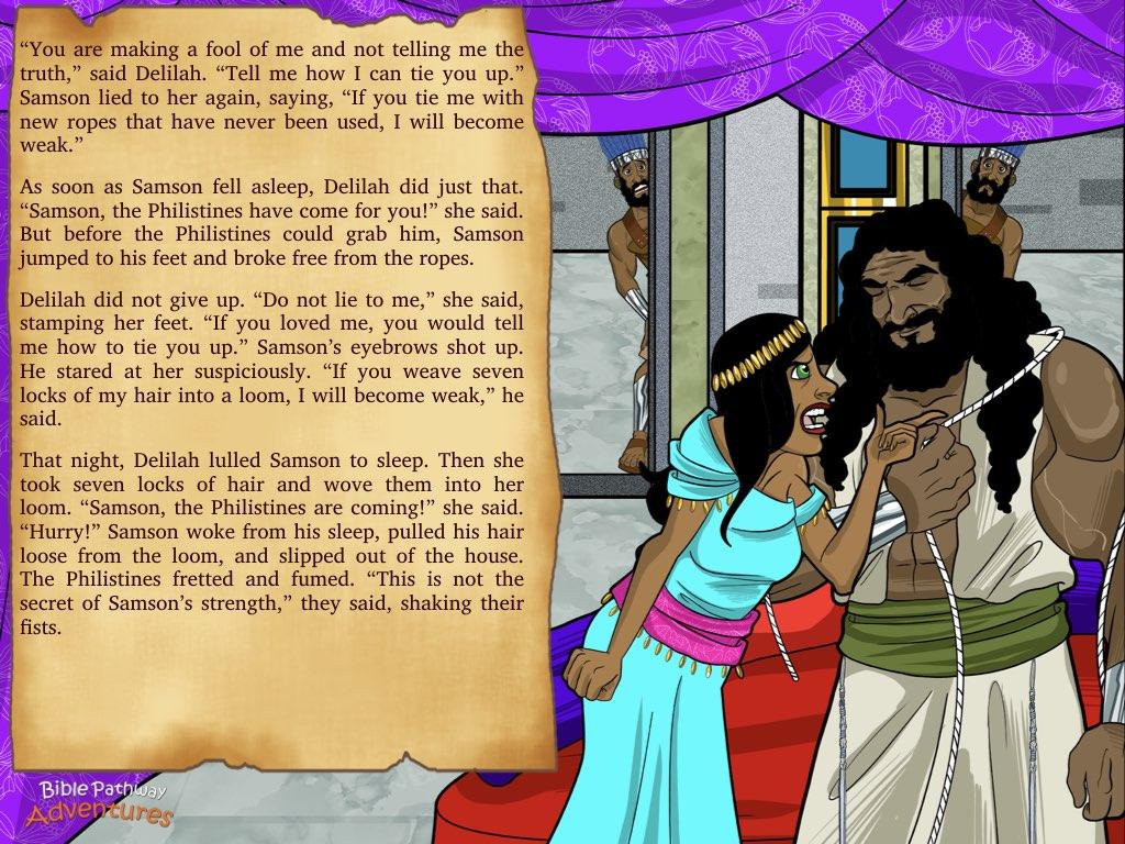 Keynote – English – Samson 014 – Bible Pathway Adventures