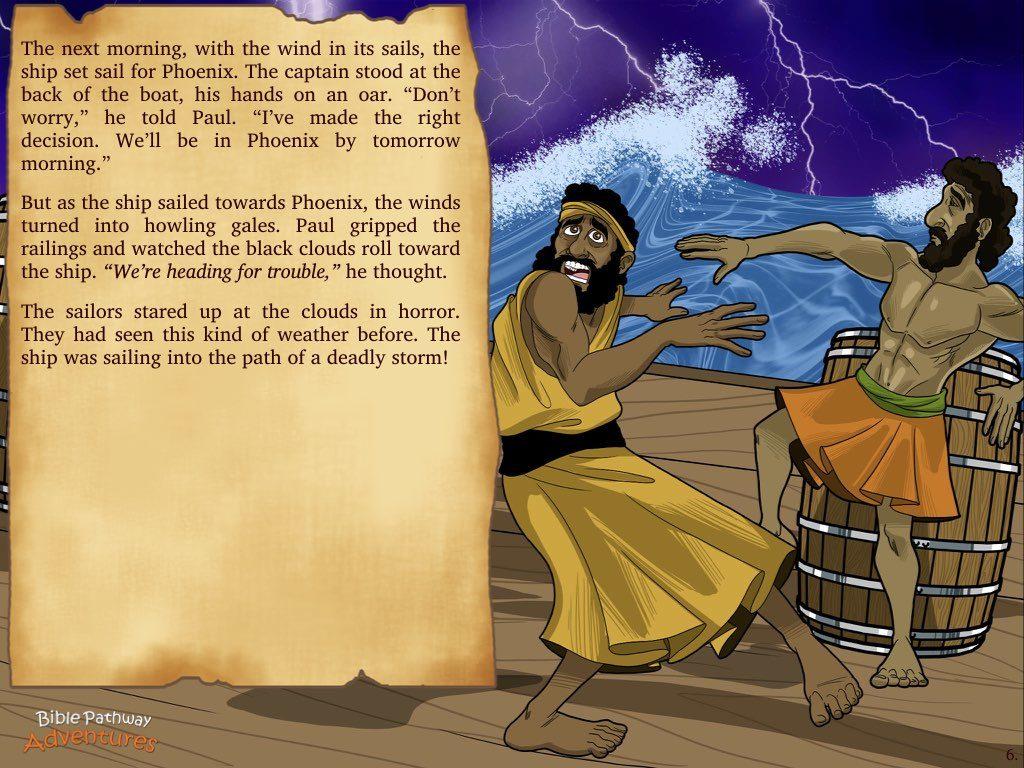 Shipwrecked   U2013 Bible Pathway Adventures
