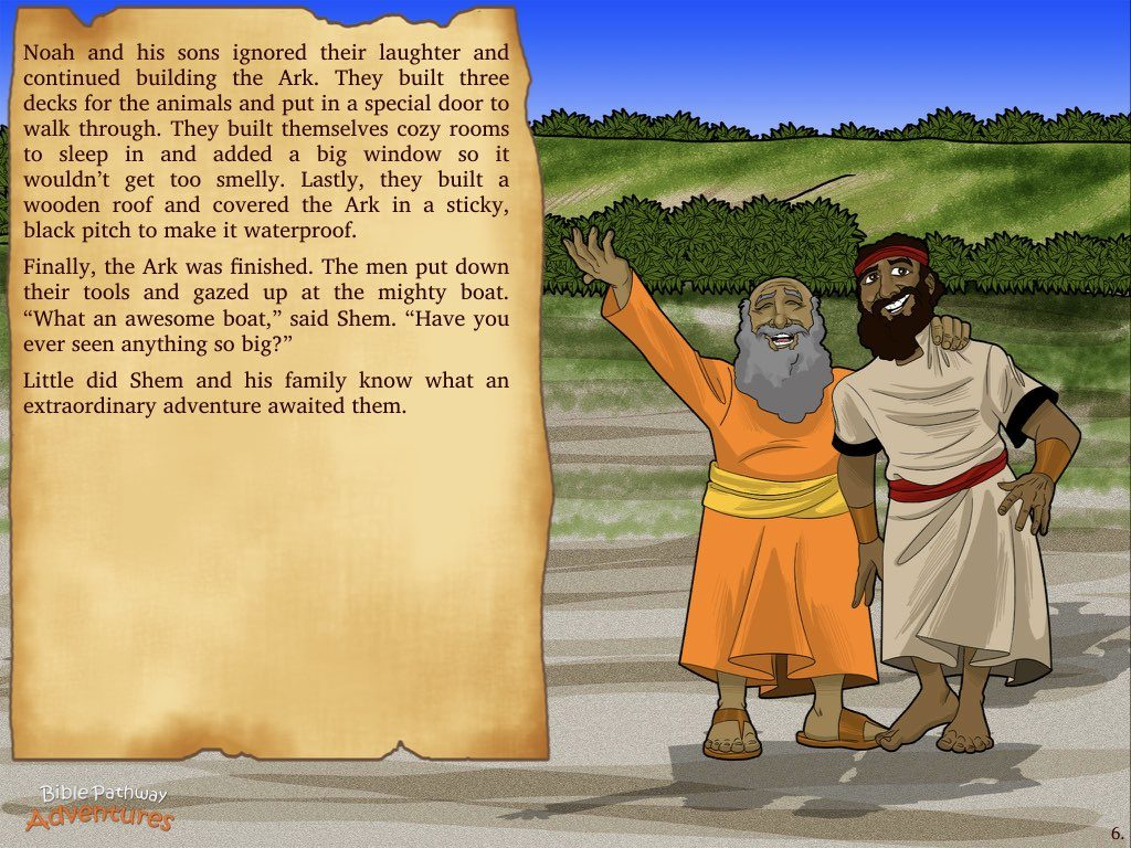 The Great Flood Bible Pathway