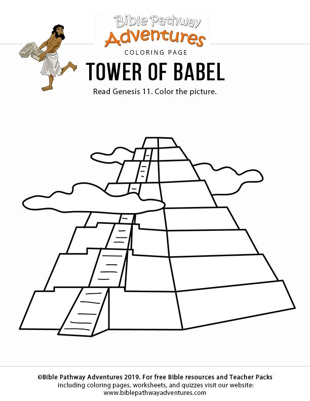 Tower of Babel - Bible Pathway Adventures